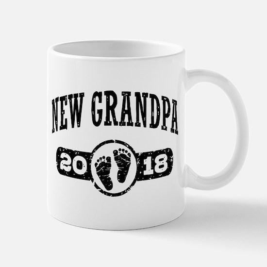 New Grandpa 2018 Mug