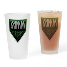 Army Drinking Glass