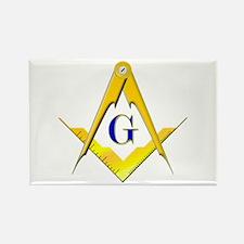 Masonic Rectangle Magnet