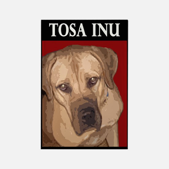 Funny Tosa Rectangle Magnet