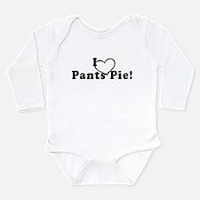 Pants Pie Long Sleeve Infant Bodysuit