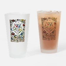 Vintage Eastern Star Signet Pint Glass
