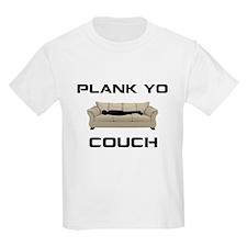 Plank Yo Couch T-Shirt
