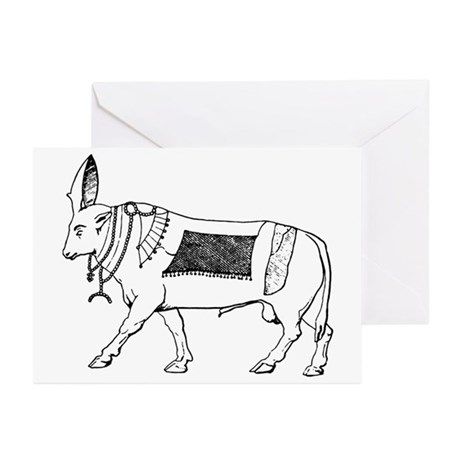 Eqyptian Sacred Bull Greeting Cards (Pk of 10)