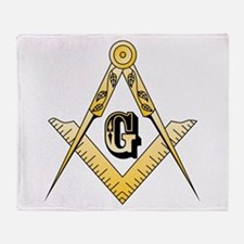 Masonic Throw Blanket