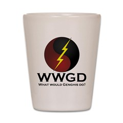 WWGD Shot Glass