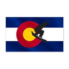 Colorado Snowboarding Wall Decal