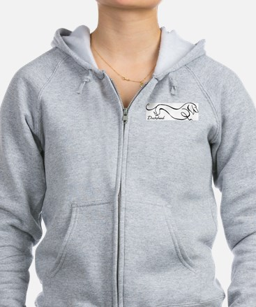Unique Dachshund Zip Hoody