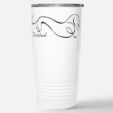 Funny Dachshund dog Travel Mug