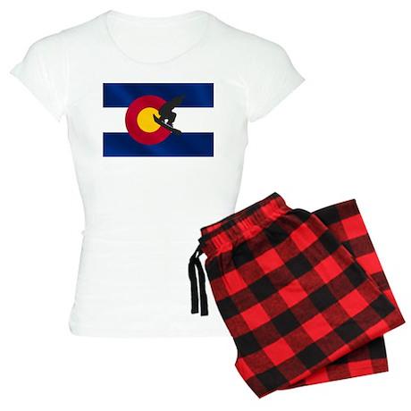 Colorado Snowboarding Women's Light Pajamas