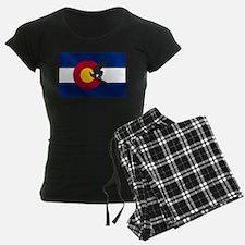 Colorado Snowboarding Pajamas