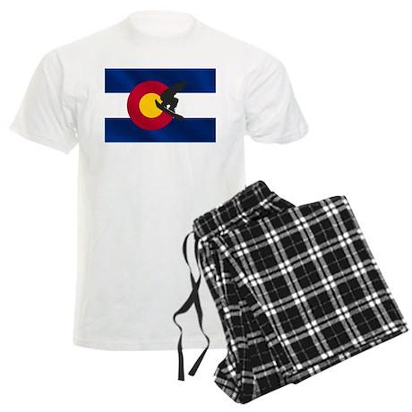 Colorado Snowboarding Men's Light Pajamas