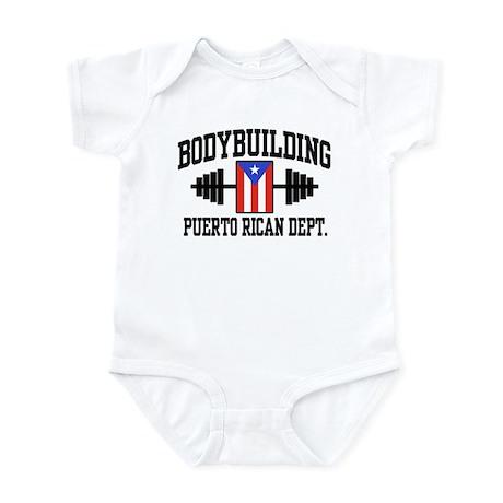 Puerto Rican Bodybuilder Infant Bodysuit