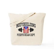 Puerto Rican Bodybuilder Tote Bag