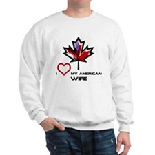 Unique I heart canada Sweatshirt