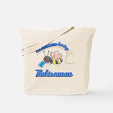 Awesome Being Botswanan Tote Bag