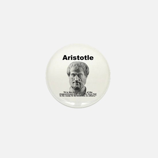 Aristotle Kindness Mini Button