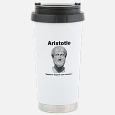 Aristotle Happiness Travel Mug