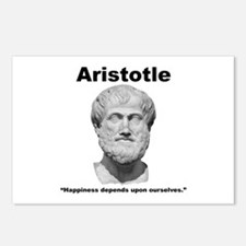 Aristotle Happiness Postcards (Package of 8)