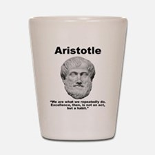 Aristotle Excellence Shot Glass
