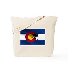 Colorado Skiing Tote Bag