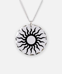 Tribal Sun Icon Necklace