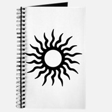 Tribal Sun Icon Journal