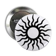 """Tribal Sun Icon 2.25"""" Button"""