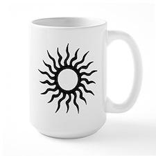 Tribal Sun Icon Mug