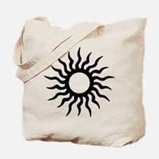 Tribal Sun Icon Tote Bag