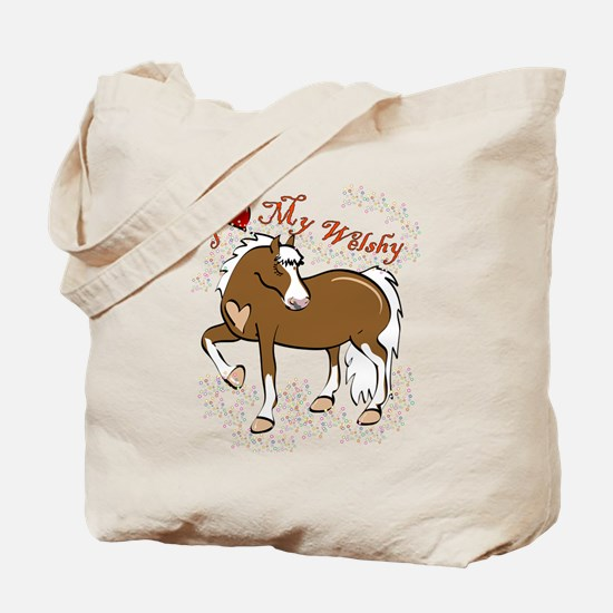 Cool Welsh cob Tote Bag