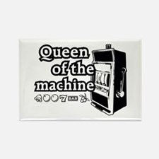 Queen of the machine Rectangle Magnet