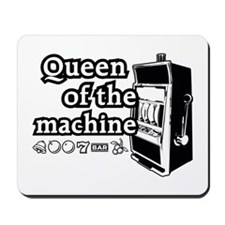 Queen of the machine Mousepad