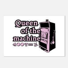Queen of the machine Postcards (Package of 8)