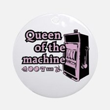 Queen of the machine Ornament (Round)