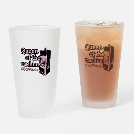 Queen of the machine Pint Glass