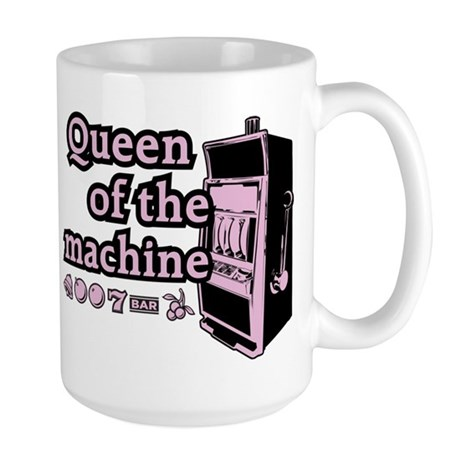 Queen of the machine Large Mug