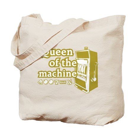 Queen of the machine Tote Bag