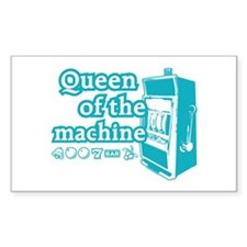 Queen of the machine Decal