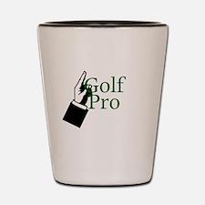 Golf Pro Shot Glass