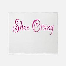 Shoe Crazy Throw Blanket