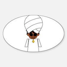 Unique Turban Decal