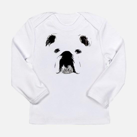 Bulldog Bacchanalia Long Sleeve Infant T-Shirt