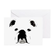Bulldog Bacchanalia Greeting Cards (Pk of 10)