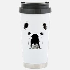 Bulldog Bacchanalia Stainless Steel Travel Mug