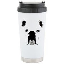 Bulldog Bacchanalia Travel Mug