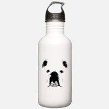 Bulldog Bacchanalia Water Bottle