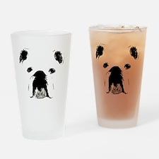 Bulldog Bacchanalia Pint Glass