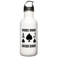 WINNER CHICKEN DINNER Water Bottle