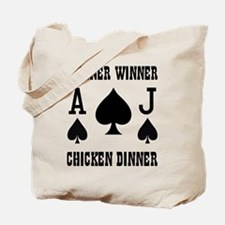 WINNER CHICKEN DINNER Tote Bag